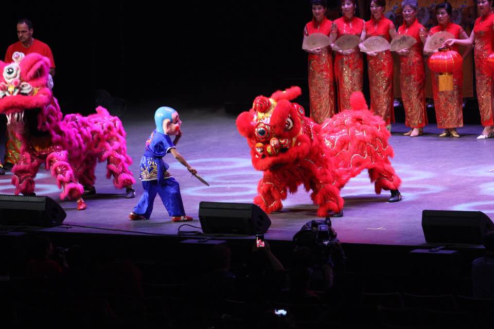Lion Dance to celebrate the Lunar Year / Spring Festival