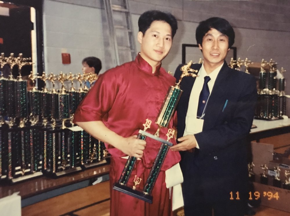 Making early Canadian wushu champions, 1994