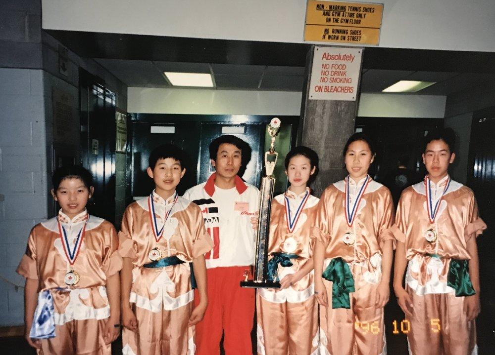 1996 wushu champions