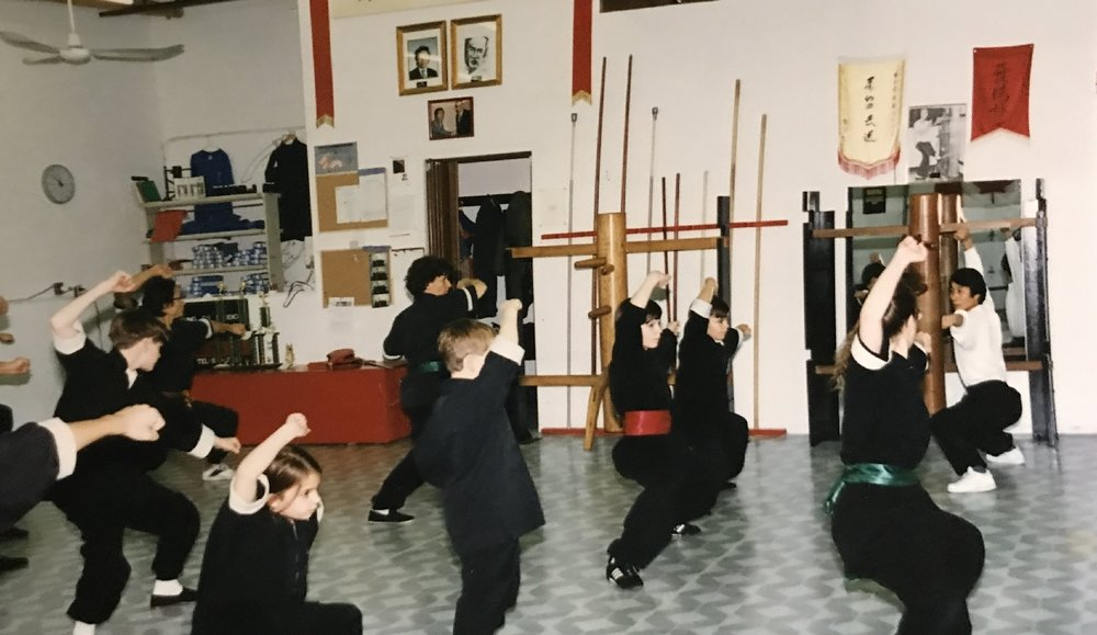 Canadians learning modern wushu for the first time