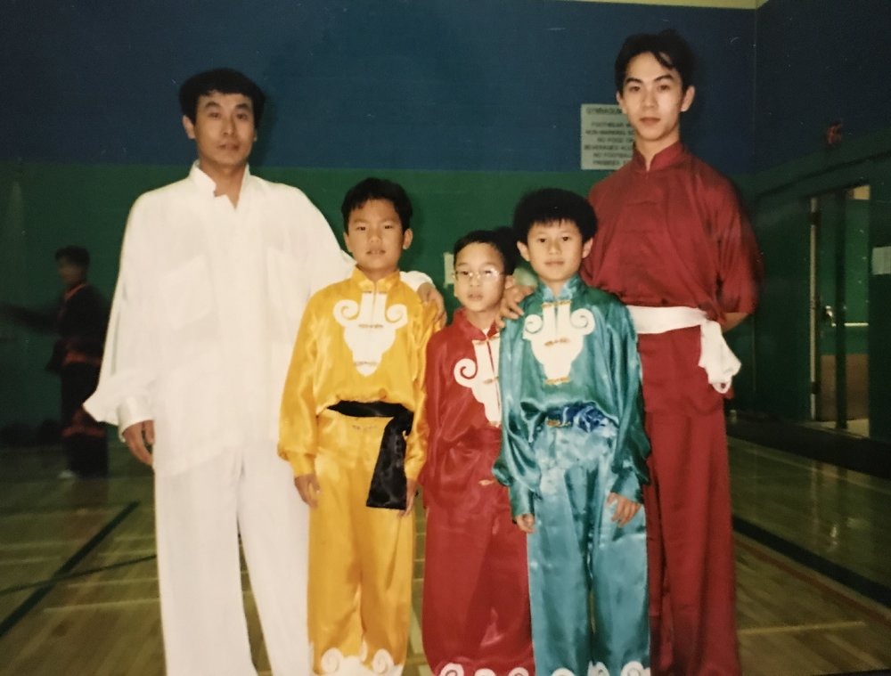 Early wushu champions