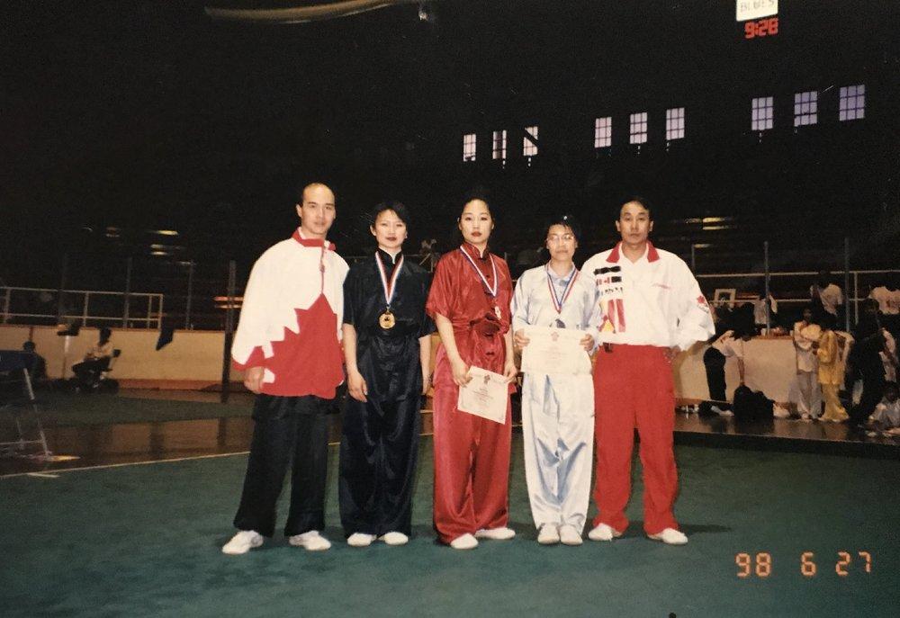 Canadian wushu champs, 1998