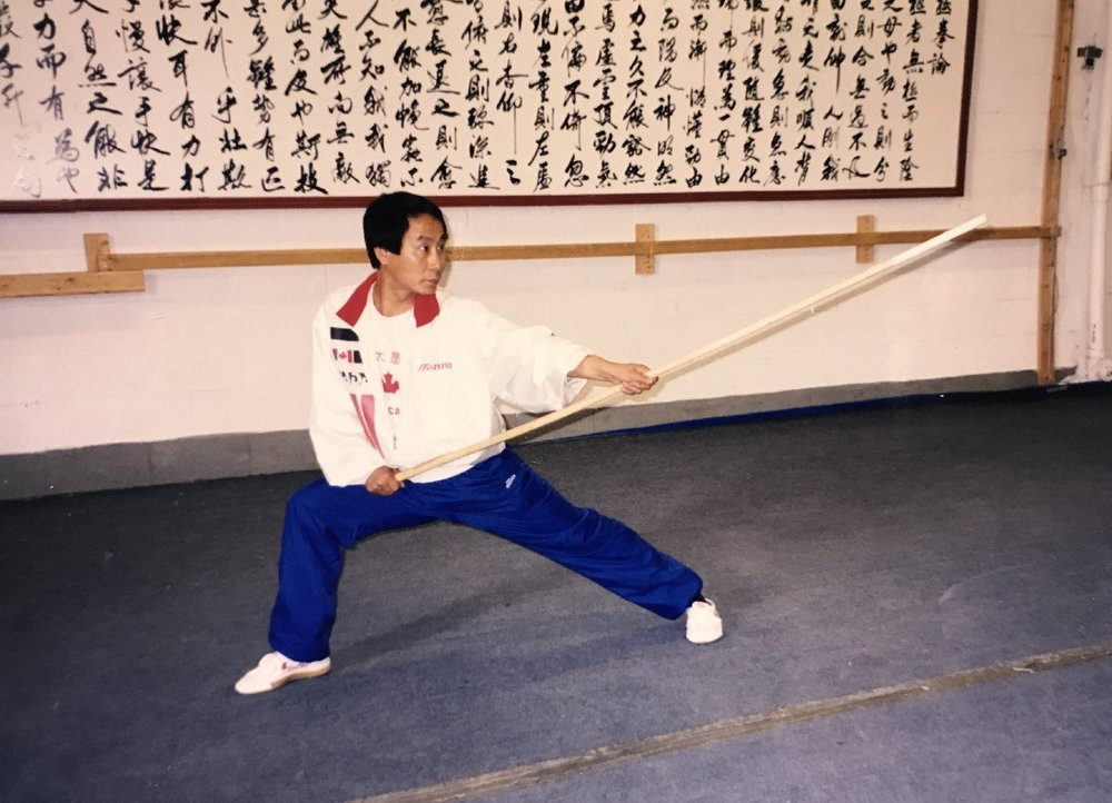 Wayland Li gunshu, early 2000s