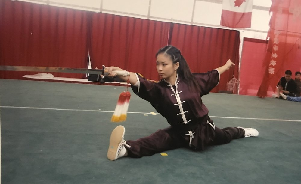 Wushu champion, W-H Lee