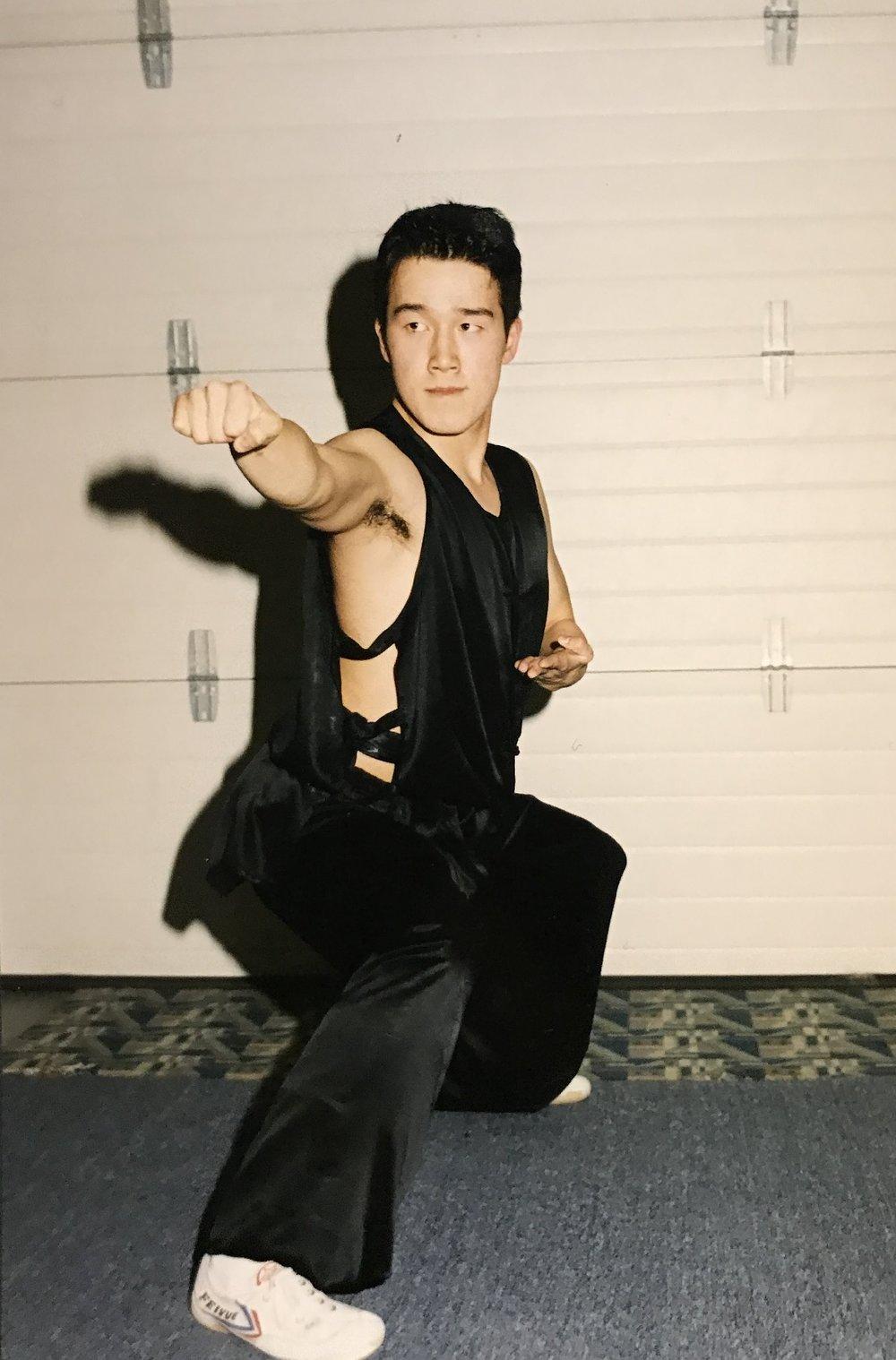 Wushu champion, K. Wong