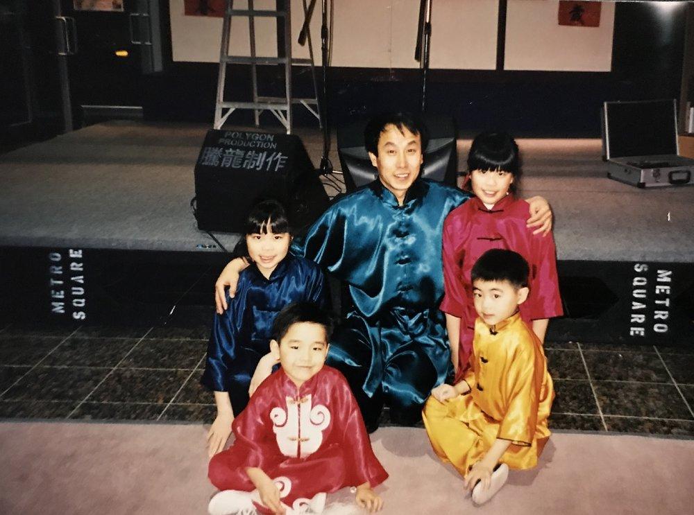 Young wushu champs