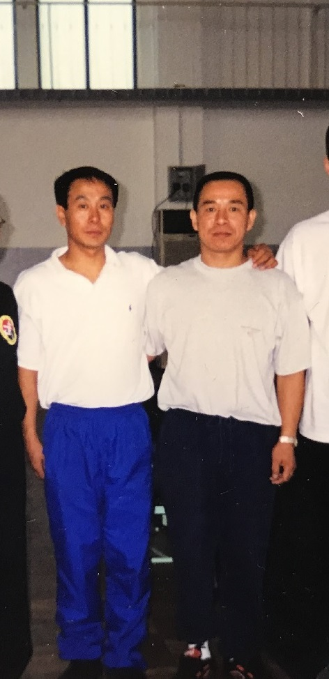 Wayland Li (李文启) with Coach Yin Yuzhu (殷玉柱), Beijing