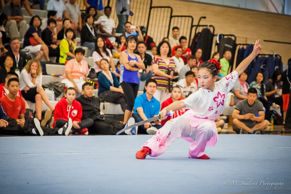 Straight sword, 2015 wushu nationals