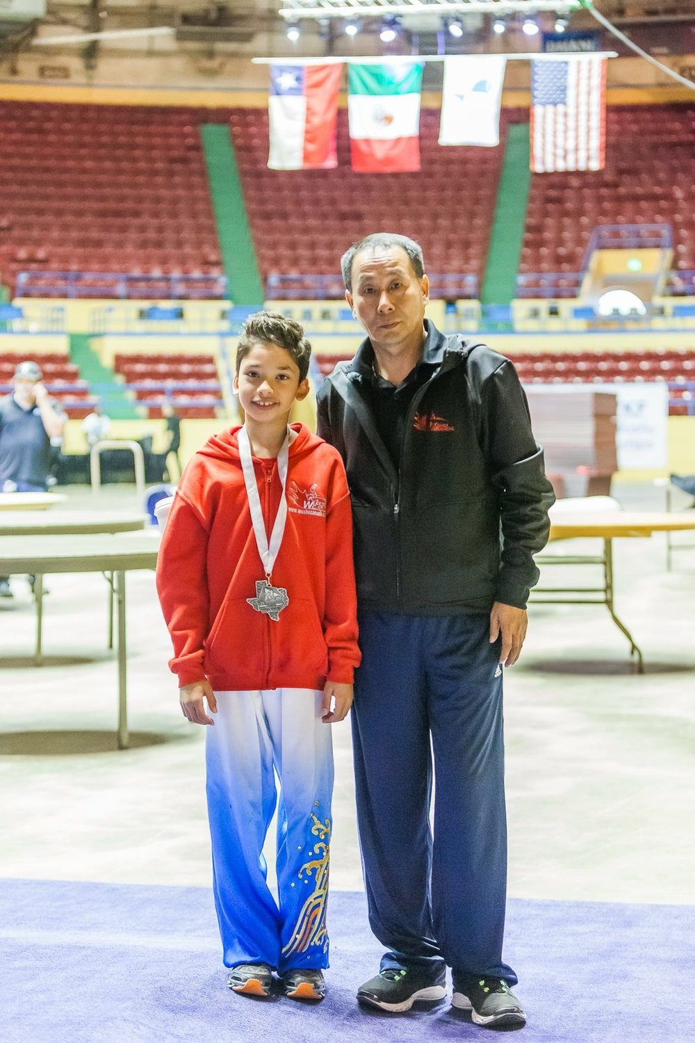 Champ and Coach, 2016 PanAm