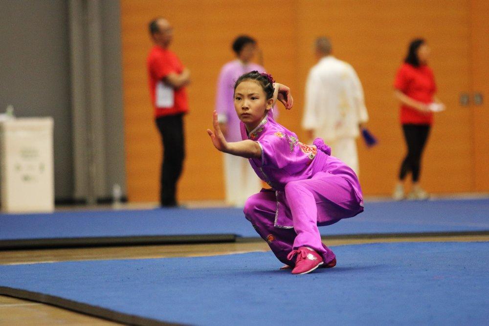 Wushu champion, Erica Li