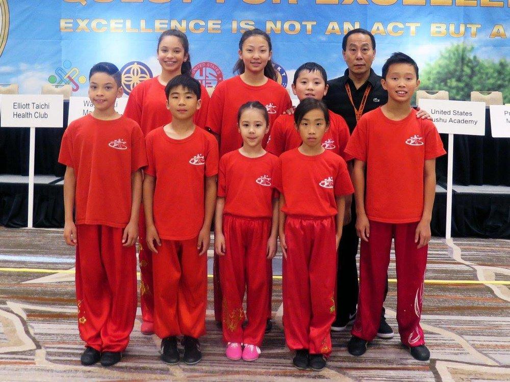 Wushu athletes