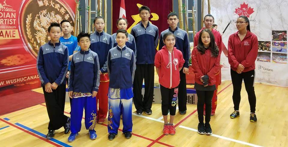 2018 Canadian National Wushu team