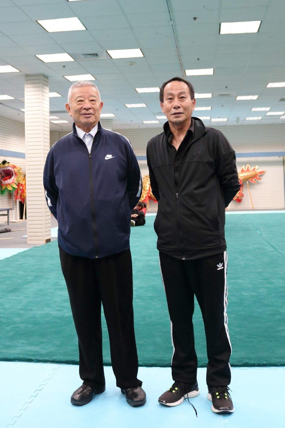 Wu Bin (吴彬) and Wayland Li (李文启).