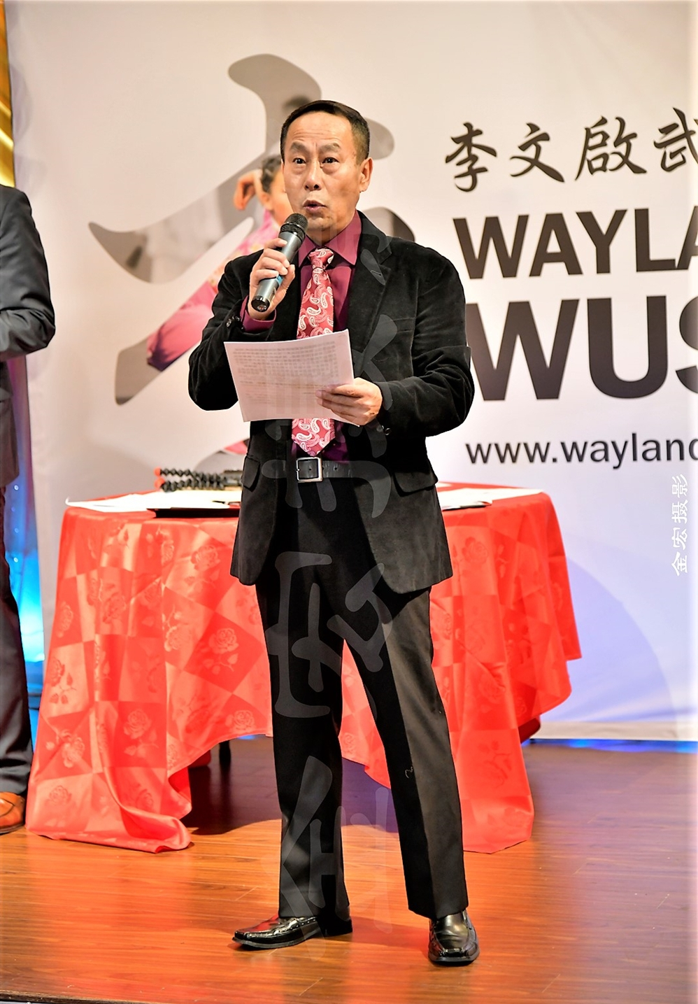Master Li (李文启师傅) started the evening with a speech from the heart, reflecting on what he and his students have achieved over the last 20 years