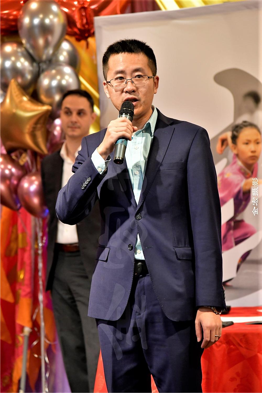 Chinese Consul Mr. Yang Baohua (中国驻多伦多领事馆杨葆华领事)