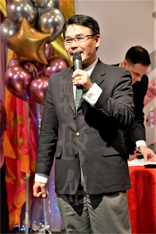 Markham Councillor Alan Ho (议员何胡景先生)