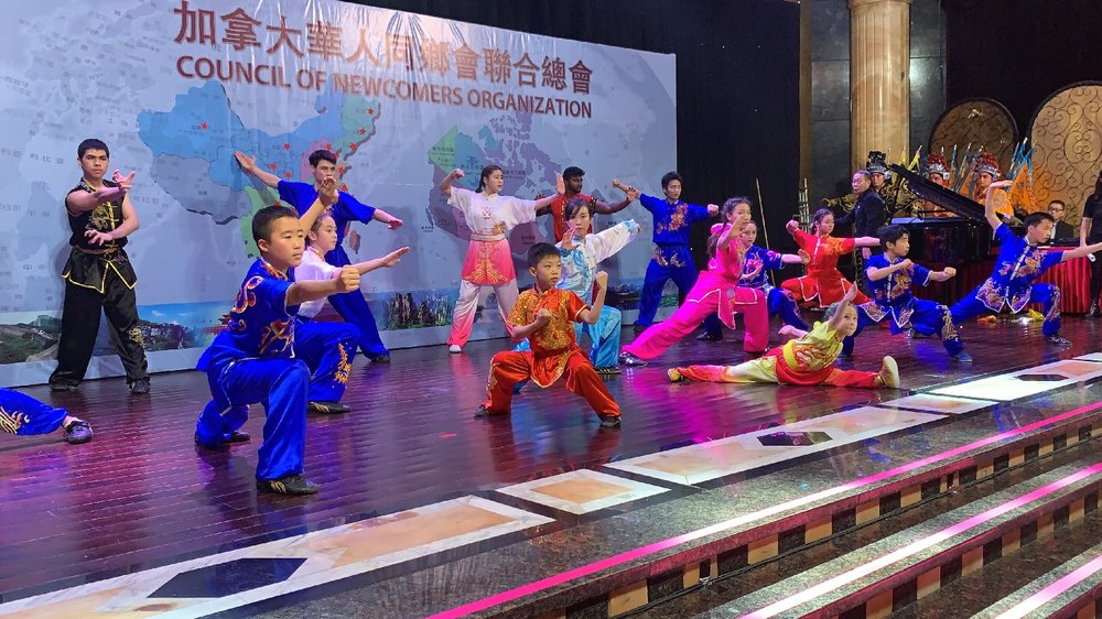 2019 demonstration team, Wayland Li Wushu.