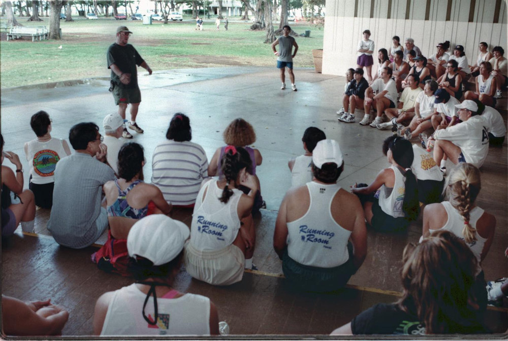 Jack Scaff and Honolulu Marathon Clinic  by Kathryn Bender.jpg