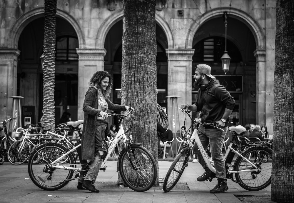 Photo Bike Tour Barcelona