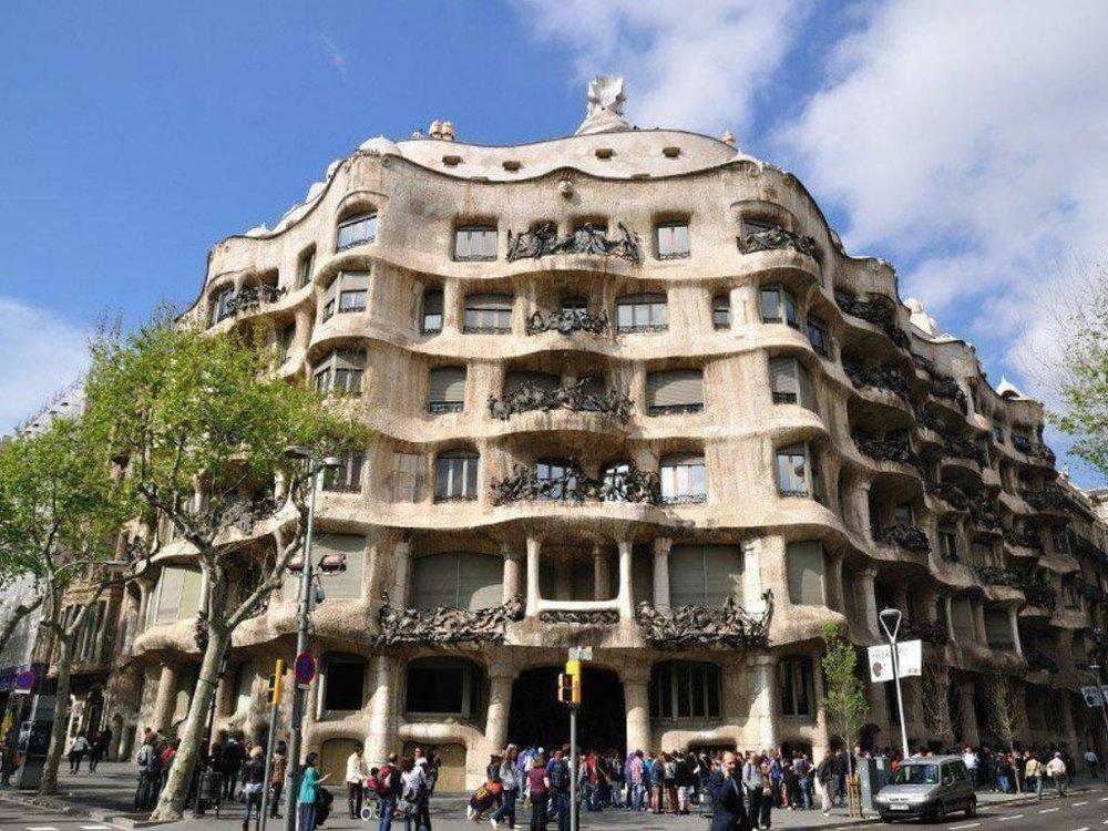 Casa Milà Modernism arquitecture