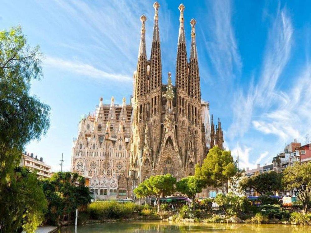 La Sagrada Família church barcelona