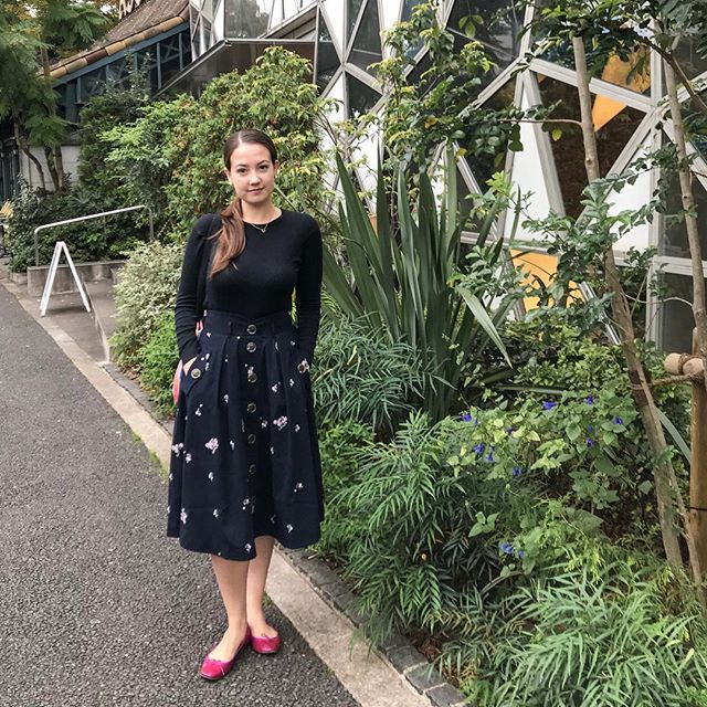 #ootd! So many cute little places in Tokyo. #fashion #designer #outfit #tokyo