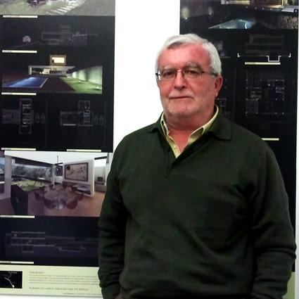 José Manuel Ríos    Titulado por la E.U Arquitectura Técnica en 1979.  Titulado en Ingeniería de Edificación en 2010.  Dirección técnica de obra, especialista cálculo de estructuras