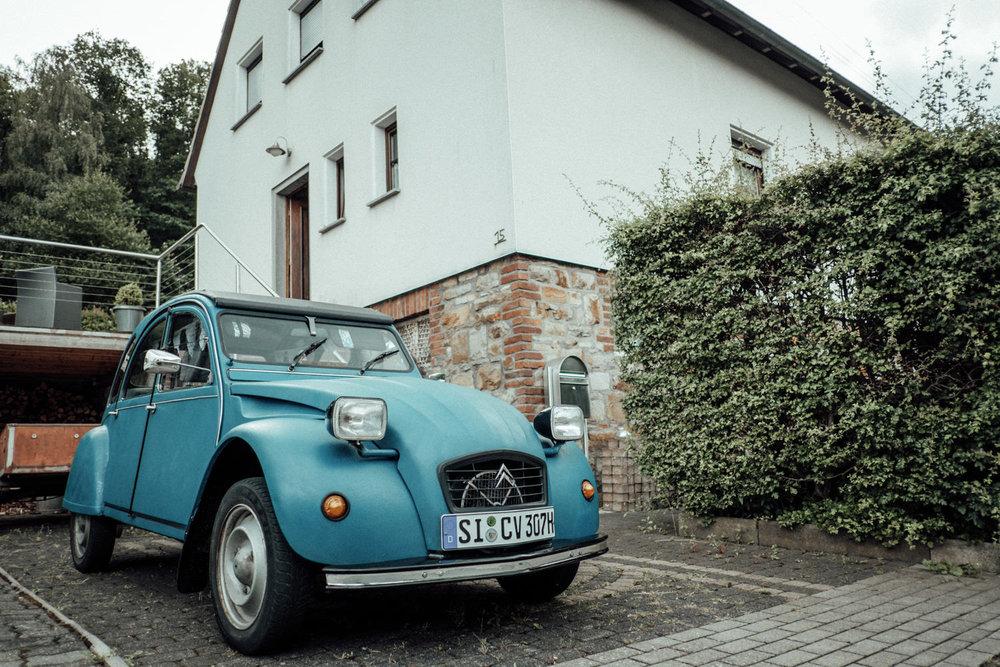 Oldtimer als Hochzeitsauto für die Hochzeit