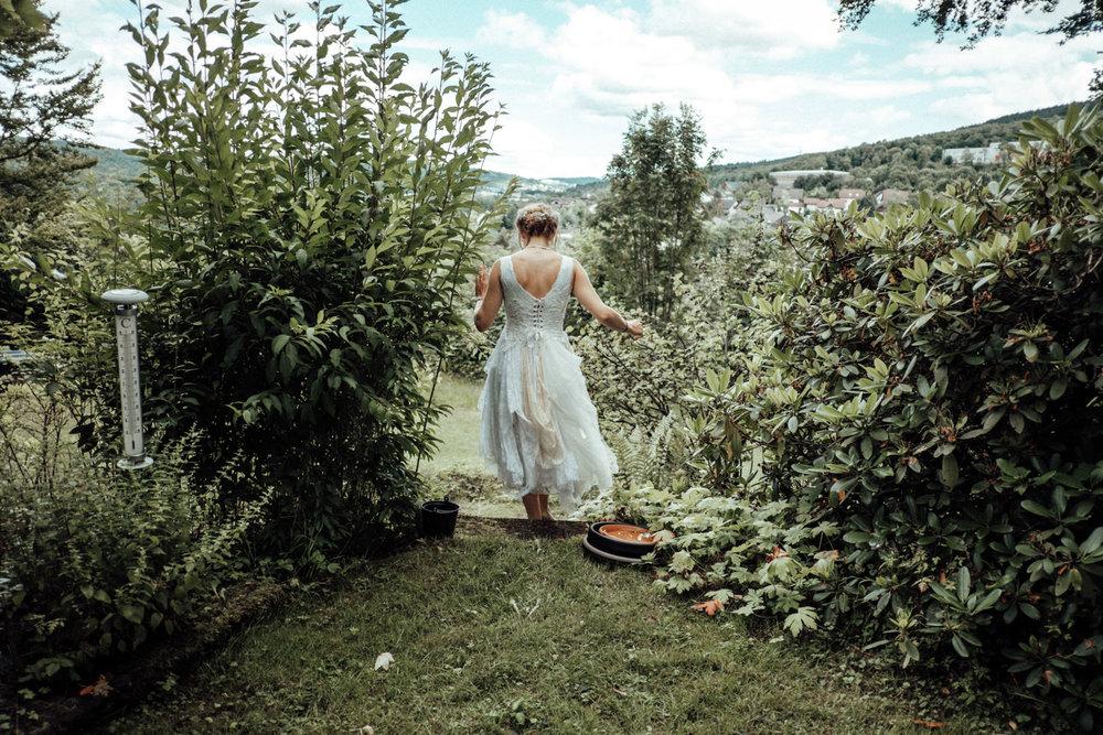 Pre-Hochzeitsshooting mit der Braut
