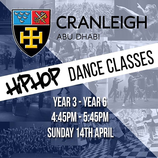 WE ARE BACK CRANLEIGH ABU DHABI! See you on Sunday for your new classes with Nader. Make sure to bring your payment before class starts. @cranleighabudhabi