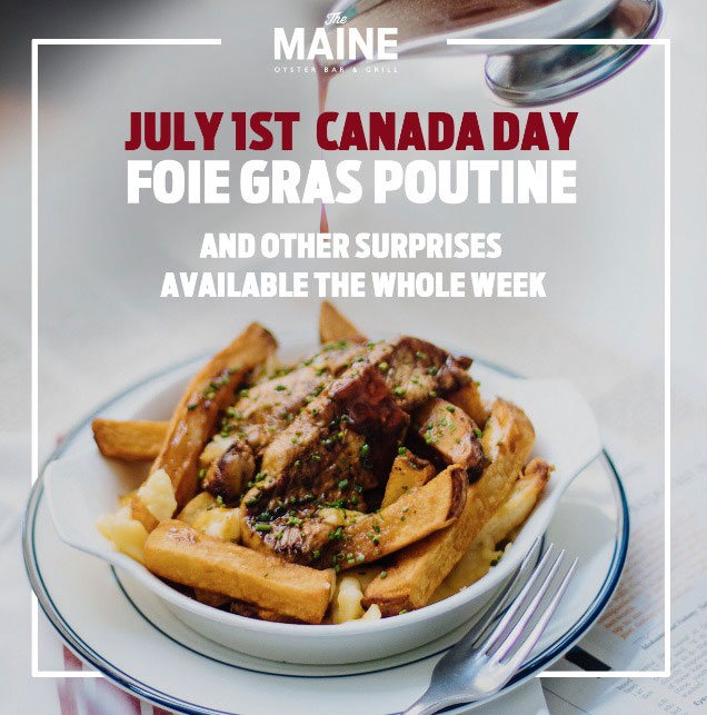 The MAINE best seafood restaurant dubai foie poutine