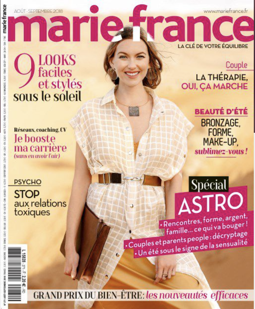 MARIE FRANCE Août-Septembre 2018 Cover.png