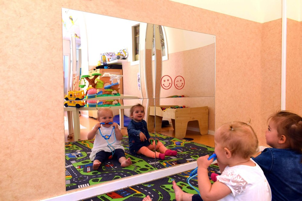 Four full size Child Safe Mirrors put together.