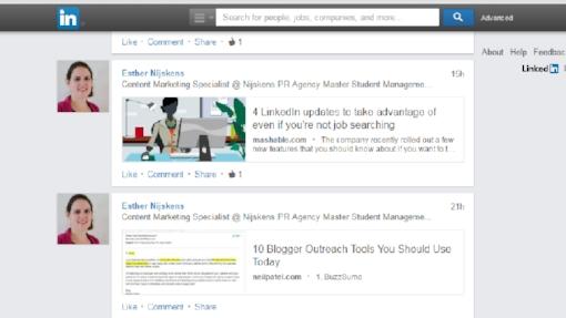 short news LinkedIn
