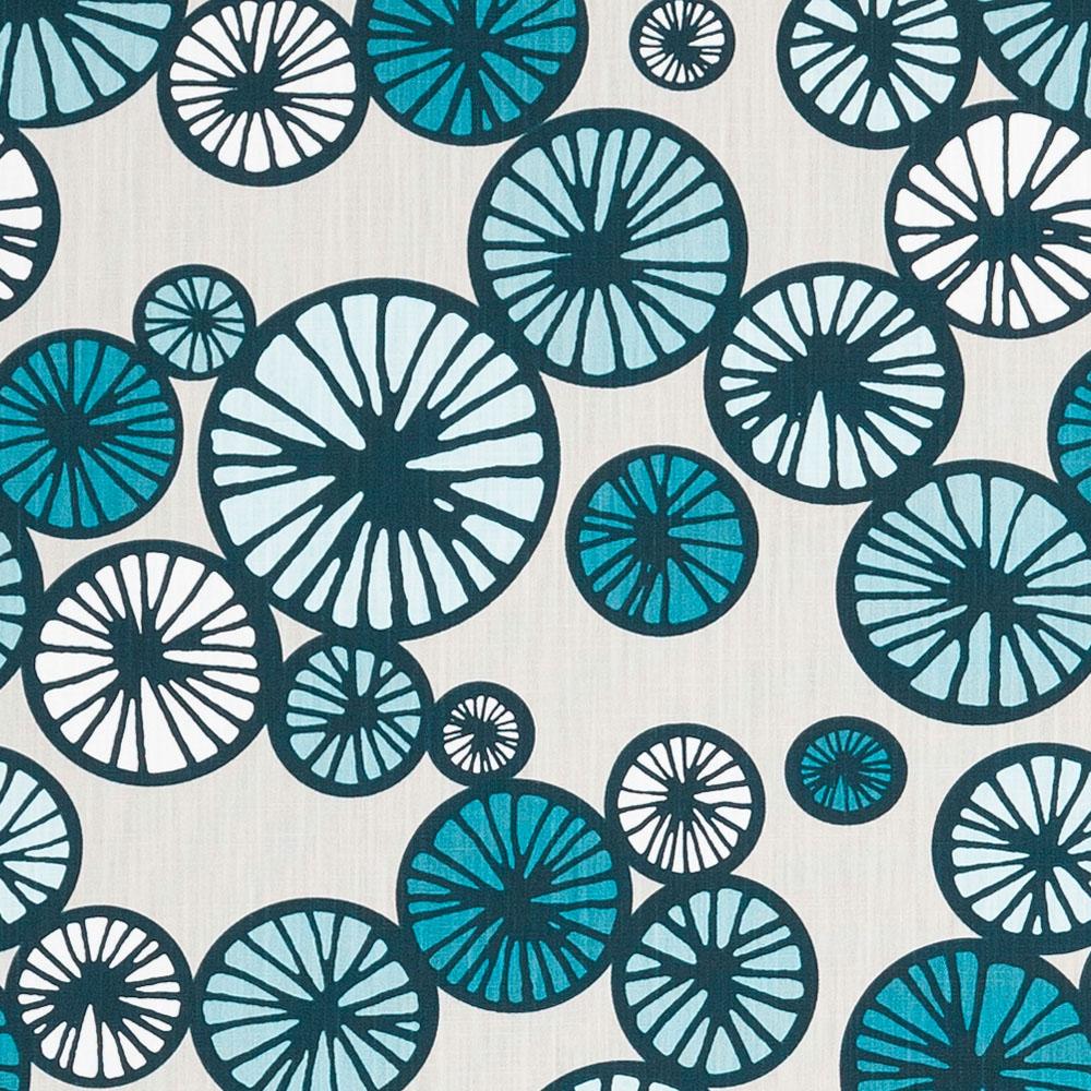Scandinavian Fabric Taro Blue Kuushti Navy