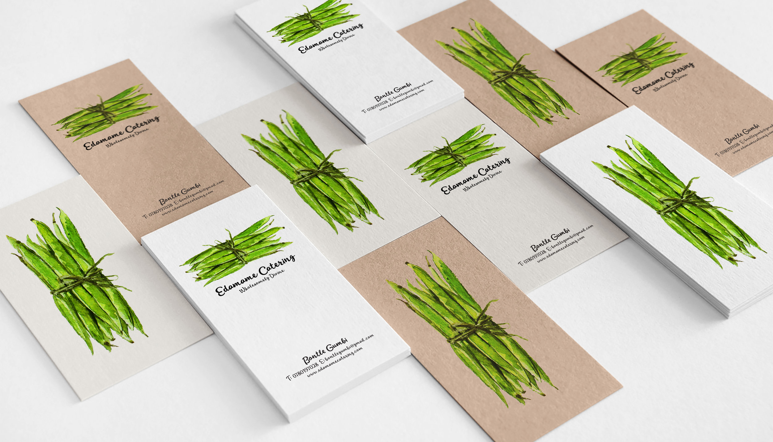 EDAMAME CATERING BRAND AND PACKAGING DESIGN — Brand Republica
