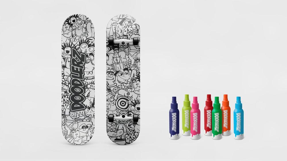 DOODLERZ skateboard - 01.jpg