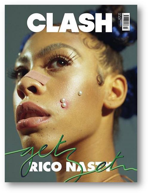 Rico Nasty Clash Magazine Cover