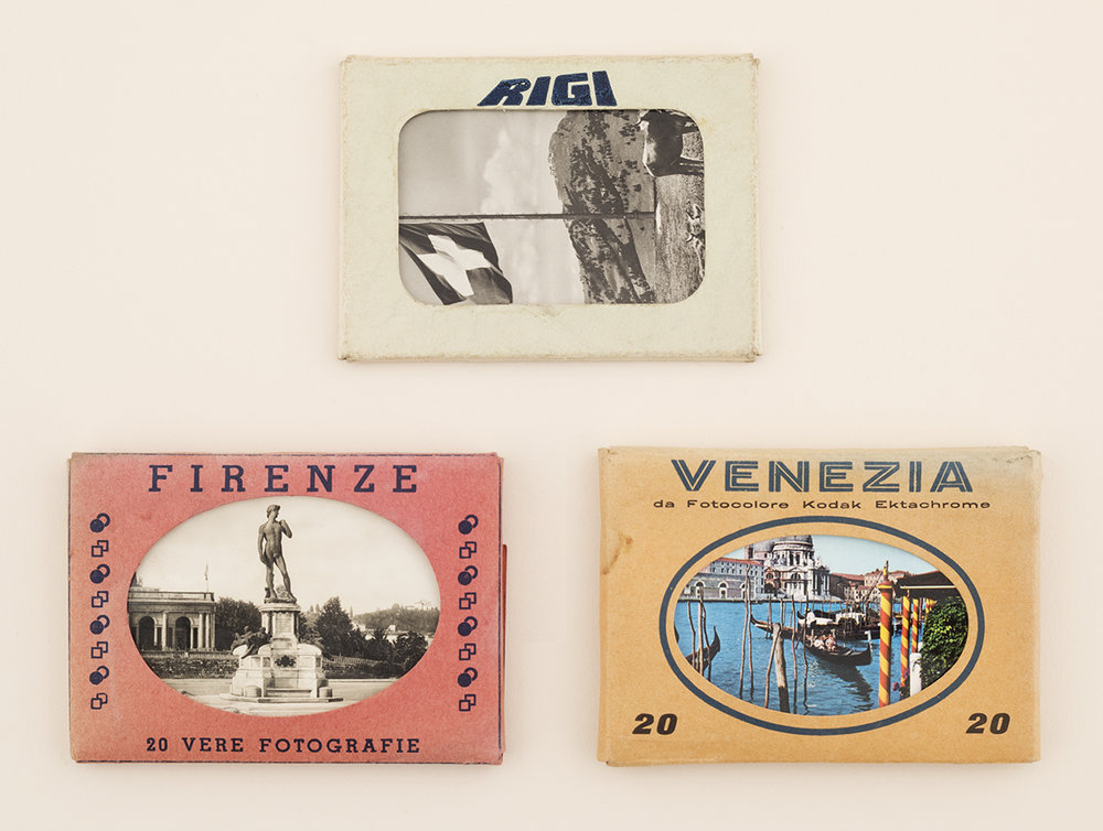 Florence, Venice and Mount Rigi souvenir photographs, found in Crystal Palace