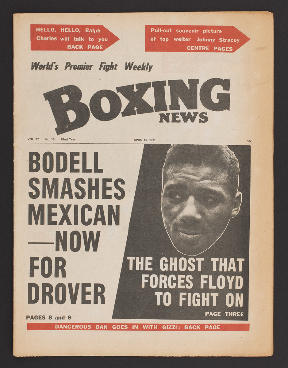 Boxing News, 1971, found in Brighton