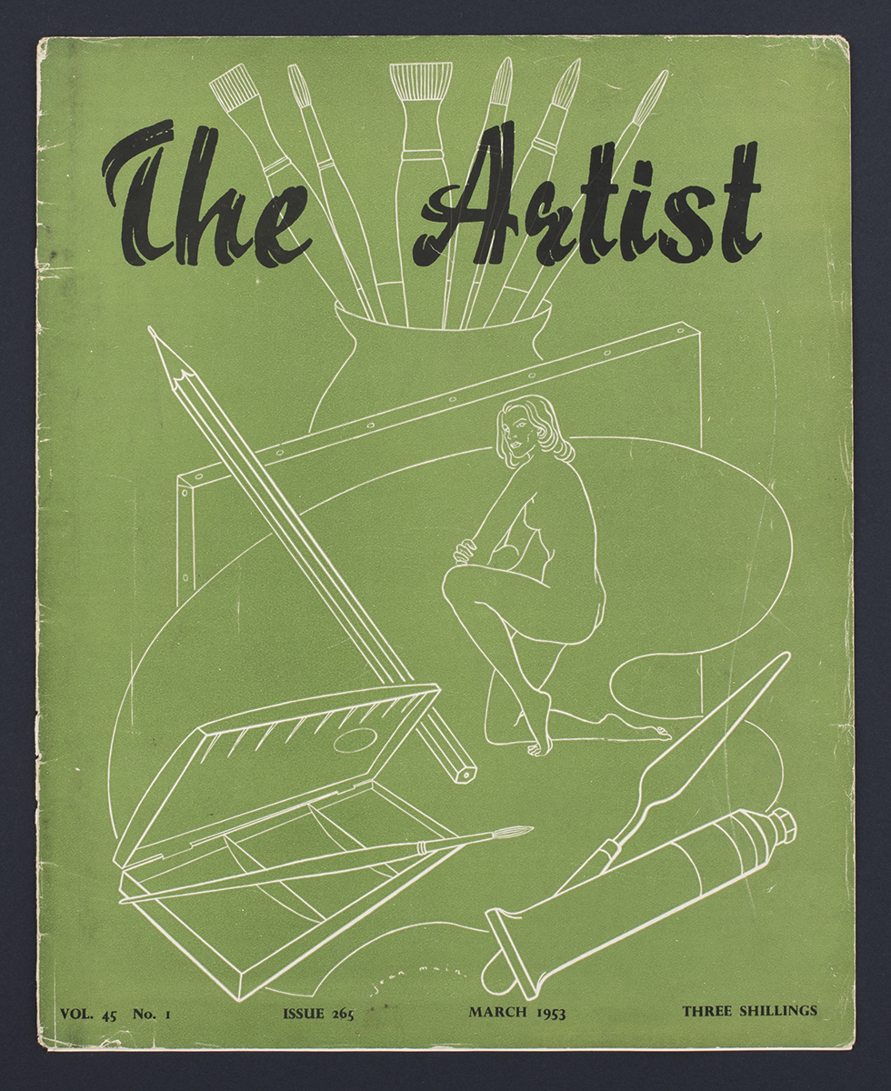 The Artist magazine, 1953, from Deptford Market