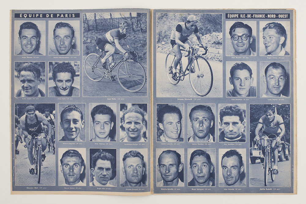French cycling magazine, 1951, found in Crystal Palace