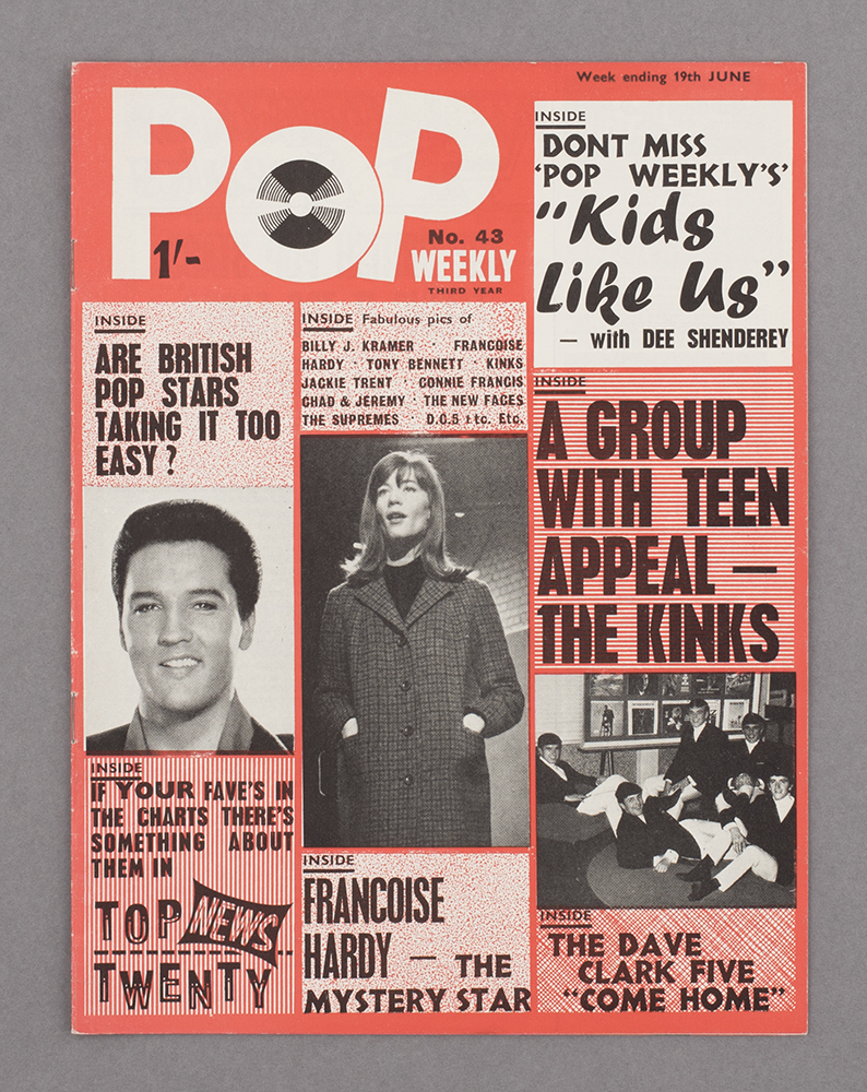 Pop Weekly, June 1965, found in Worthing