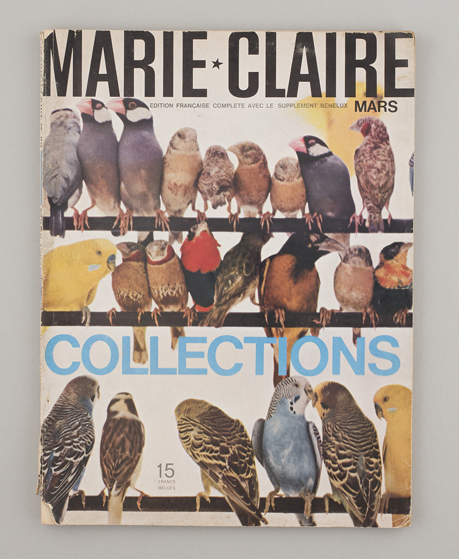 Belgian Marie Claire, March 1962, from Marolles flea market, Brussels