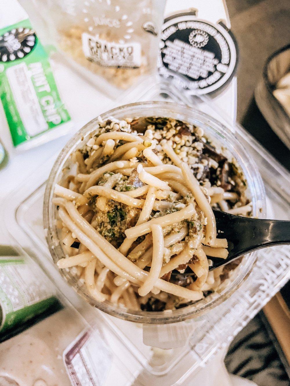 Peato Mushroom Noodle Bowl