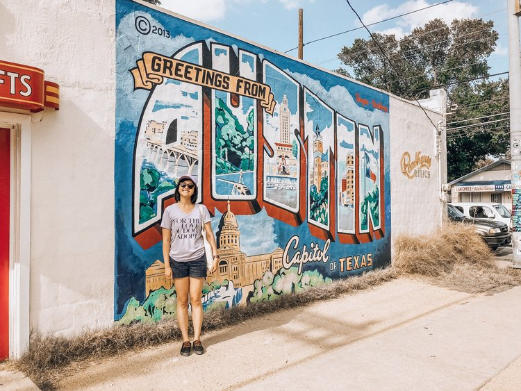 Austin texas veganeatsnyc welcome to austin mural m4hsunfo