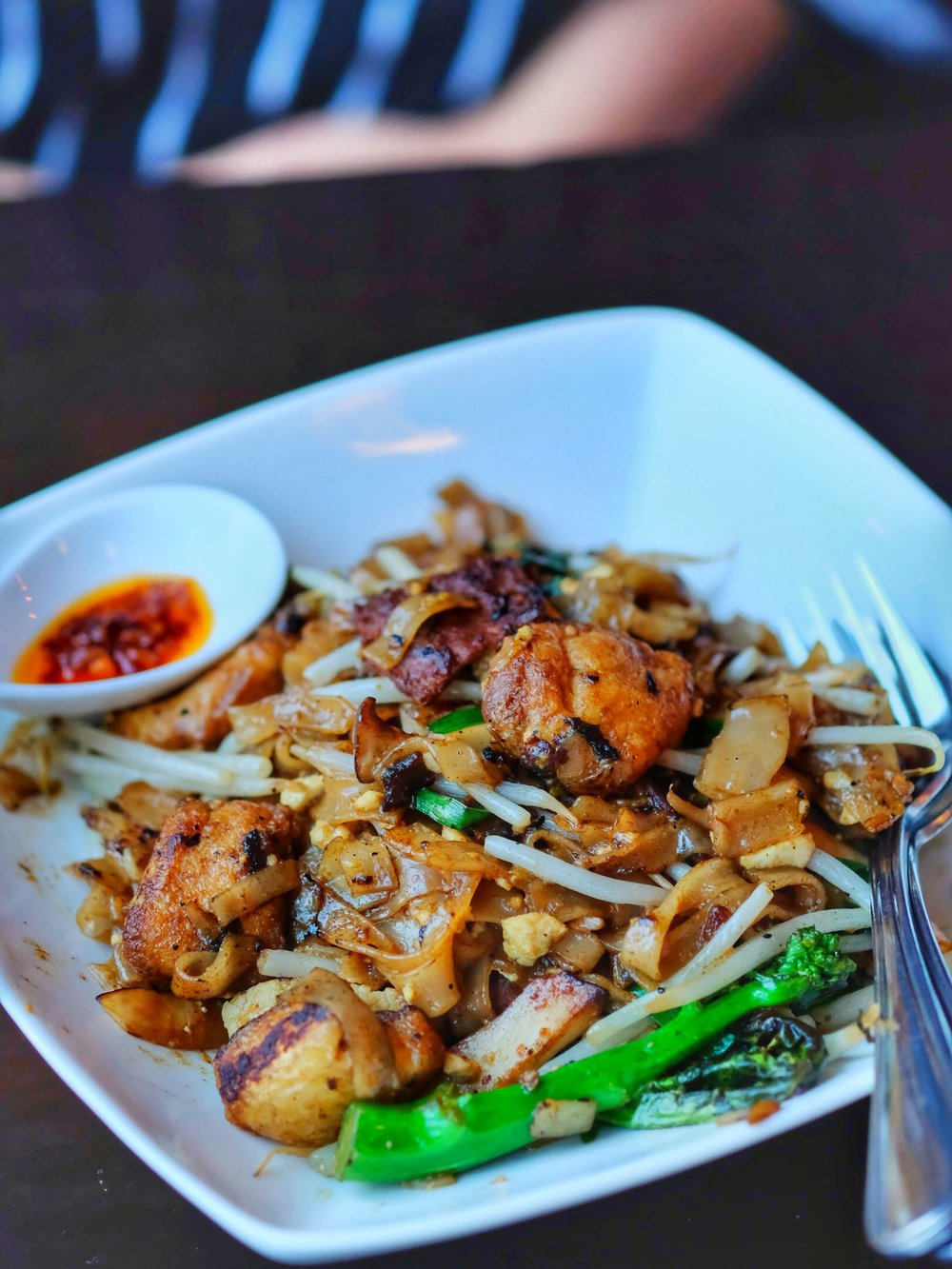 Char Kwan Teow (stir fried noodles)