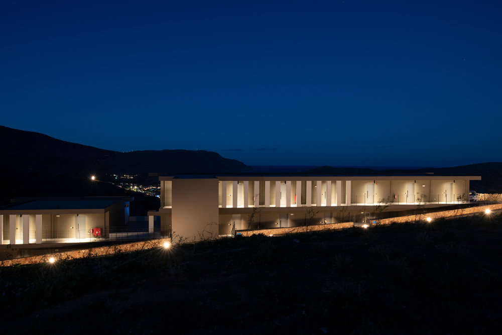 Photography assignment for the architect Stefano Scandali  and the construction office Oikodomi.  Elounda Blu hotel is located in an extraordinary location facing the famous island of Spinalonga in Aghios Nikolaos.