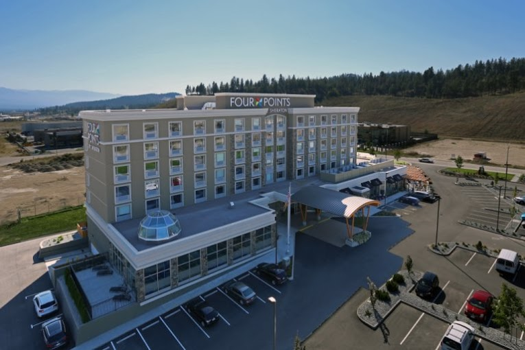 Arranged take-out financing for Four Points by Sheraton Kelowna Airport, BC