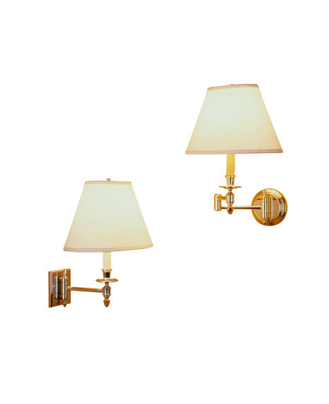 Huntington Swing Arm Sconces